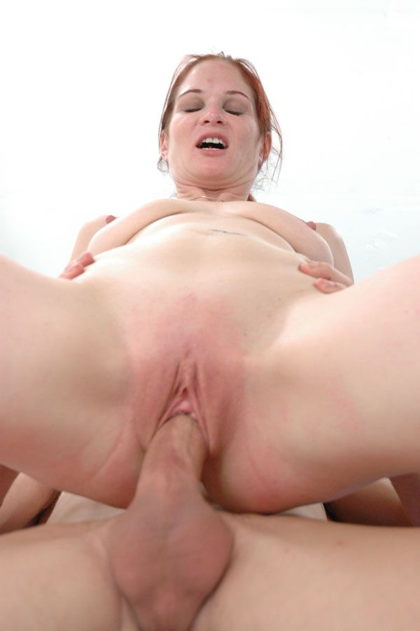 Hot redhead action